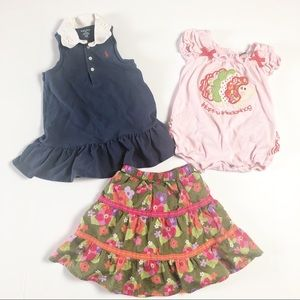 Baby Girl Spring Summer Lot Size 12 18 months